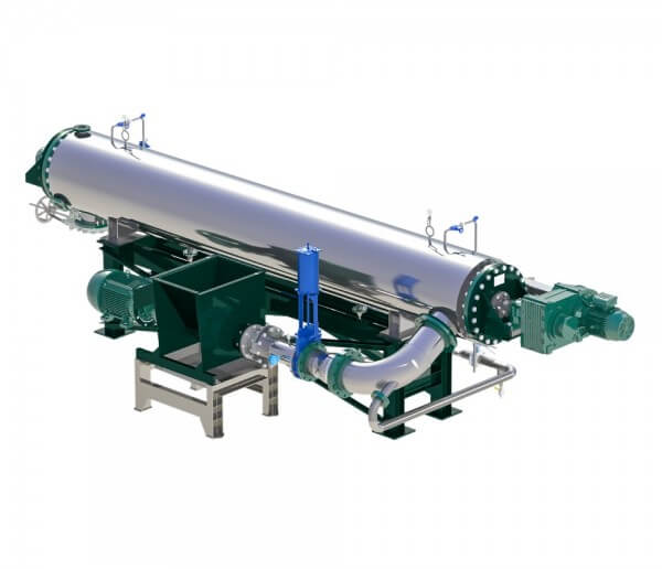 Continuous Feather Hydrolyser